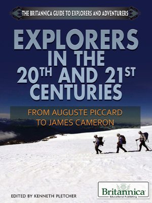 cover image of Explorers in the 20th and 21st Centuries