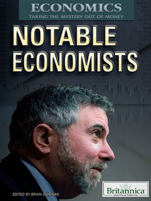 cover image of Notable Economists