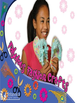 cover image of Fabulous Fashion Crafts
