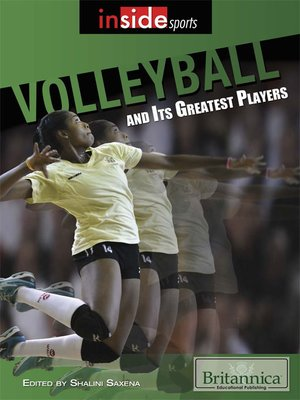 cover image of Volleyball and Its Greatest Players