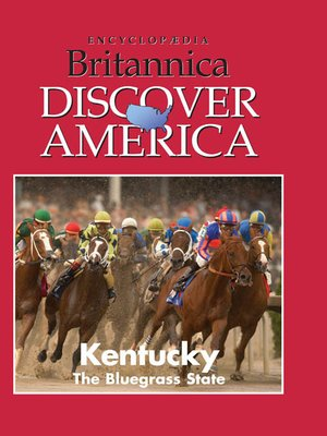 cover image of Kentucky: The Bluegrass State