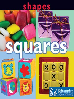 cover image of Shapes: Squares