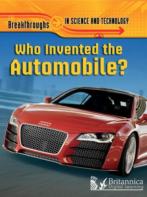 cover image of Who Invented the Automobile?