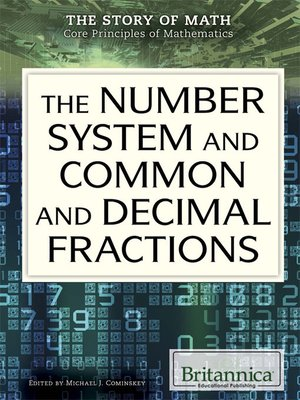 cover image of The Number System and Common and Decimal Fractions