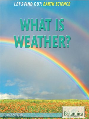 cover image of What Is Weather?