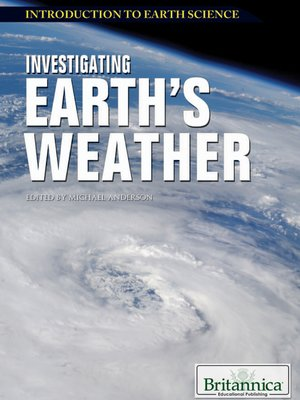 cover image of Investigating Earth's Weather