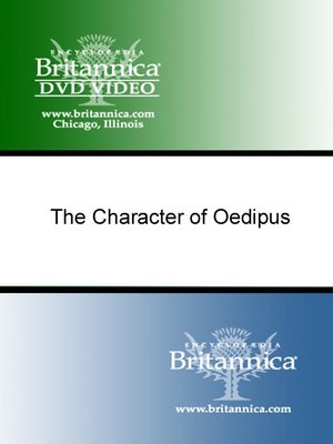 cover image of The Character of Oedipus