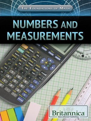 cover image of Numbers and Measurements