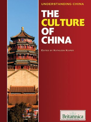 cover image of The Culture of China