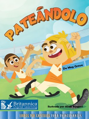 cover image of Pateándolo (Kickin It)
