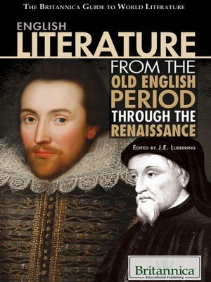 cover image of English Literature from the Old English Period Through the Renaissance