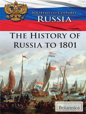 cover image of The History of Russia to 1801