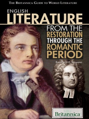 cover image of English Literature from the Restoration through the Romantic Period
