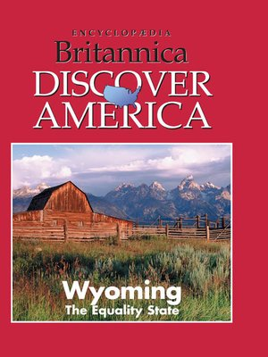 cover image of Wyoming: The Equality State