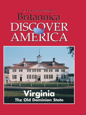 cover image of Virginia: The Old Dominion State