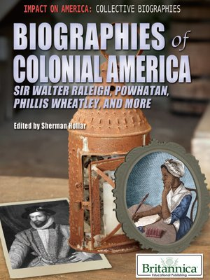 cover image of Biographies of Colonial America