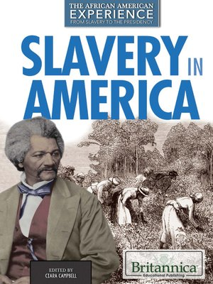 cover image of Slavery in America