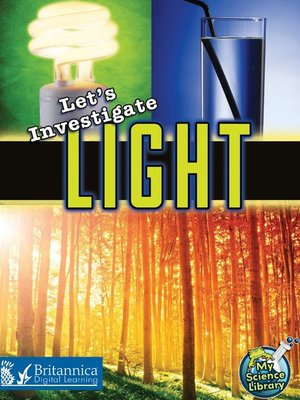 cover image of Let's Investigate Light