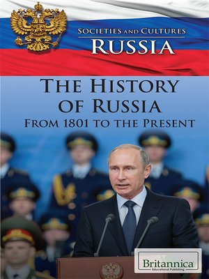cover image of The History of Russia from 1801 to the Present