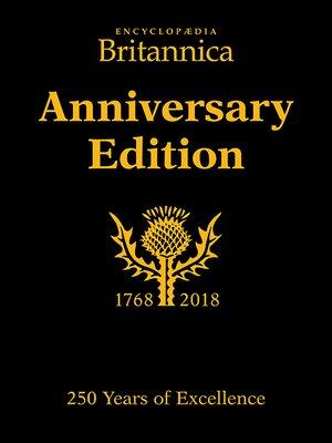 cover image of Encyclopædia Britannica Anniversary Edition