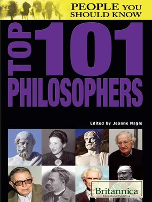 cover image of Top 101 Philosophers