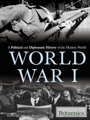 Diplomatic history of World War I