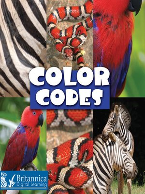 cover image of Color Codes