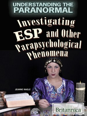 cover image of Investigating ESP and Other Parapsychological Phenomena