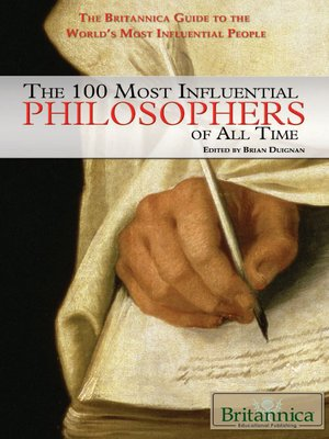 cover image of The 100 Most Influential Philosophers of All Time