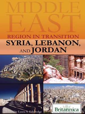 cover image of Syria, Lebanon, and Jordan