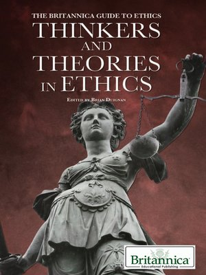 cover image of Thinkers and Theories in Ethics