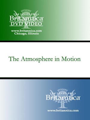 cover image of The Atmosphere in Motion