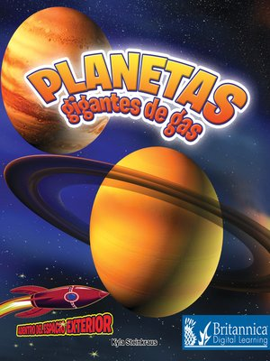 cover image of Planetas gigantes de gas