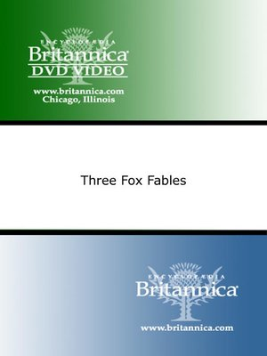 cover image of Three Fox Fables