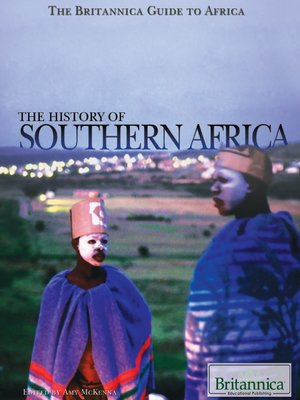 cover image of The History of Southern Africa