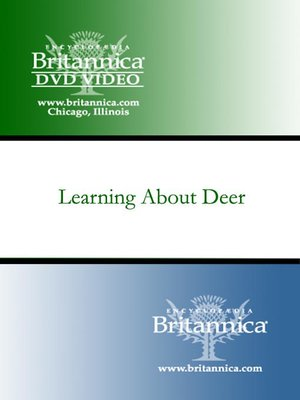 cover image of Learning About Deer