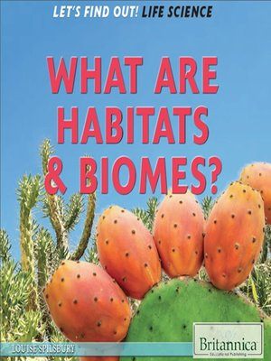 cover image of What Are Habitats & Biomes?