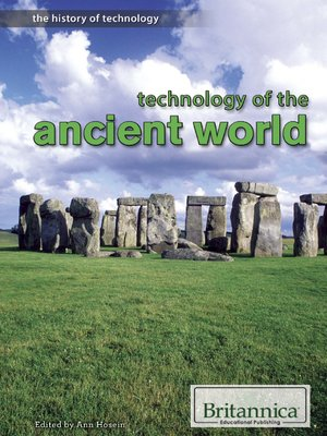 cover image of Technology of the Ancient World