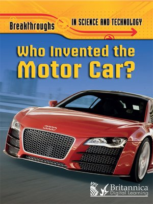 cover image of Who Invented the Motor Car?