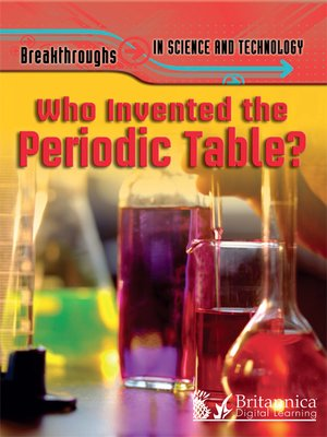 cover image of Who Invented the Periodic Table?
