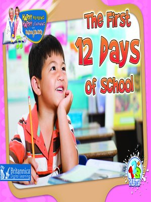 cover image of The First 12 Days of School