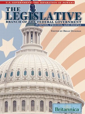 cover image of The Legislative Branch of the Federal Government