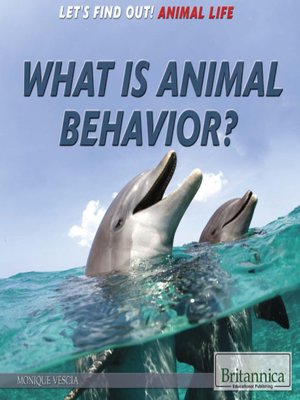 cover image of What Is Animal Behavior?
