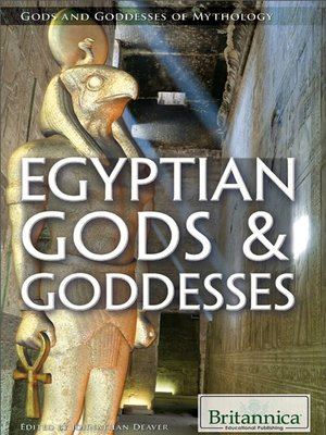 cover image of Egyptian Gods & Goddesses
