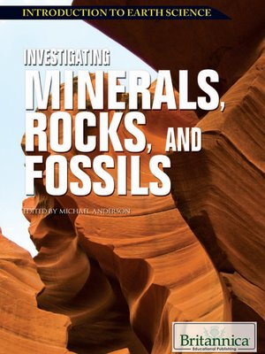 cover image of Investigating Minerals, Rocks, and Fossils