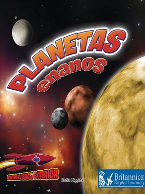 cover image of Planetas enanos