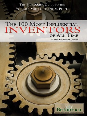 cover image of The 100 Most Influential Inventors of All Time
