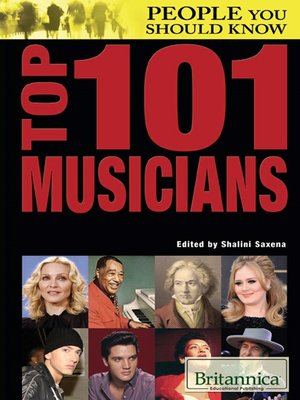 cover image of Top 101 Musicians