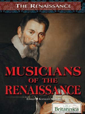 cover image of Musicians of the Renaissance