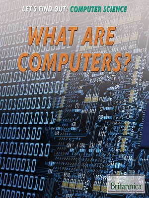 cover image of What Are Computers?